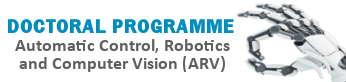 PhD Automatic Control Robotics & Vision, (open link in a new window)